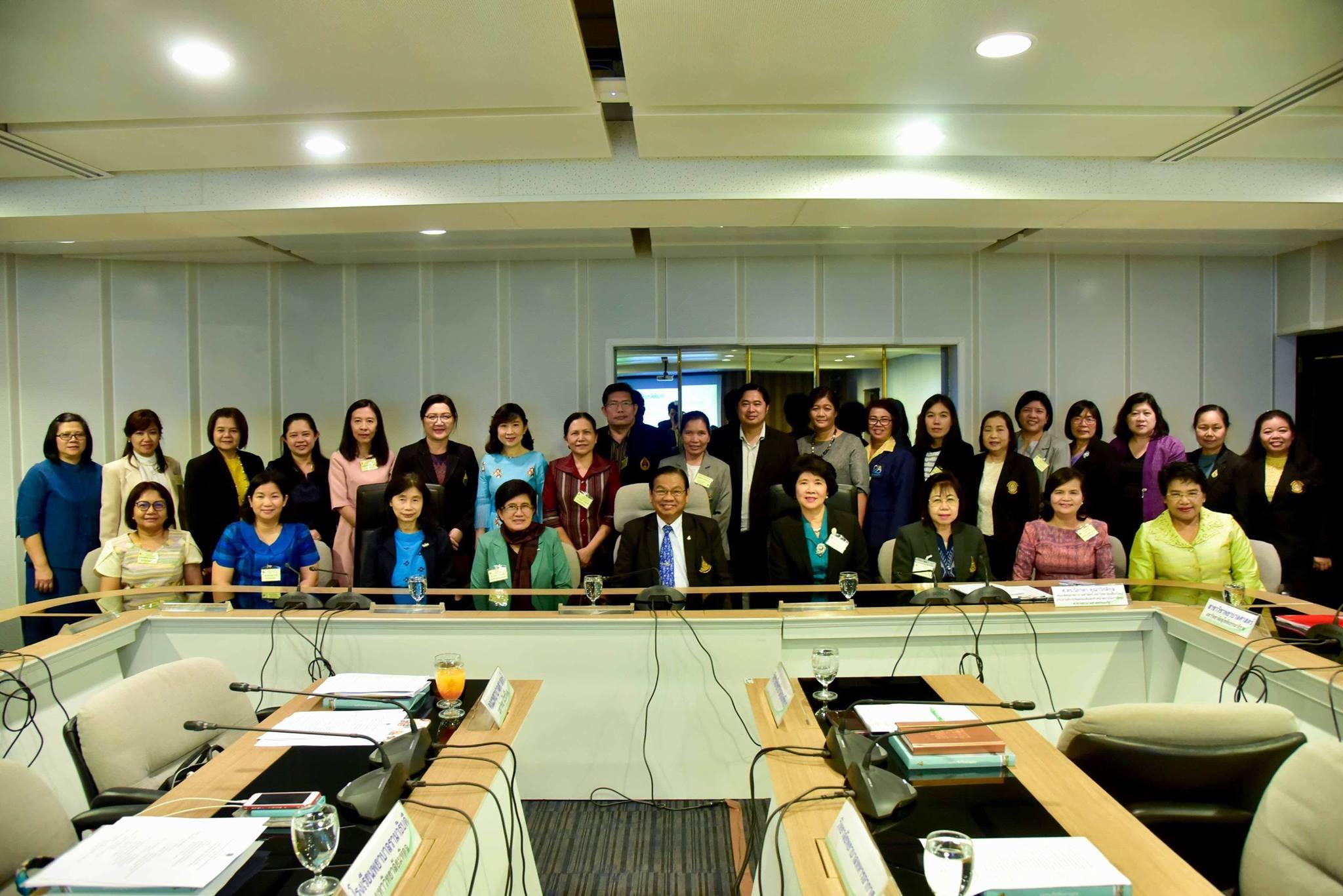 ยินดีต้อนรับที่ประชุมคณบดีและหัวหน้าสถาบันการศึกษาสาขาพยาบาลศาสตร์ของรัฐ ในการมาศึกษาดูงานระบบการศึกษาทางไกลของสาขาวิชาพยาบาลศาสตร์