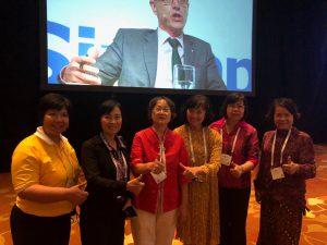 คณาจารย์สาขาวิชาพยาบาลศาสตร์ เข้าร่วมประชุม ICN Congress 2019 Singapore